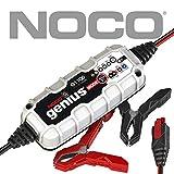 NOCO Genius G1100EU 6V / 12V 1.1 Amp Cargador de batería inteligente y mantenedor para auto, moto y más