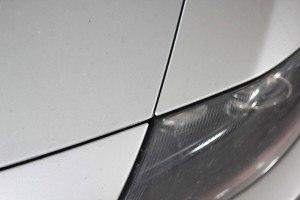 Consejos para comprar un coche de segunda mano: Diferente distancia entre chapas