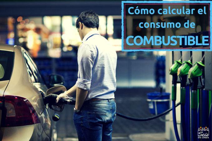 como calcular consumo gasolina
