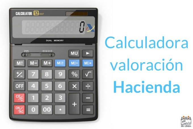 Calculadora valor coche Hacienda