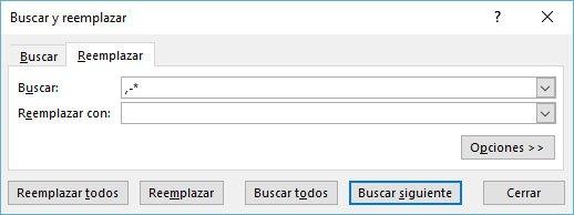 reemplazar-en-Excel