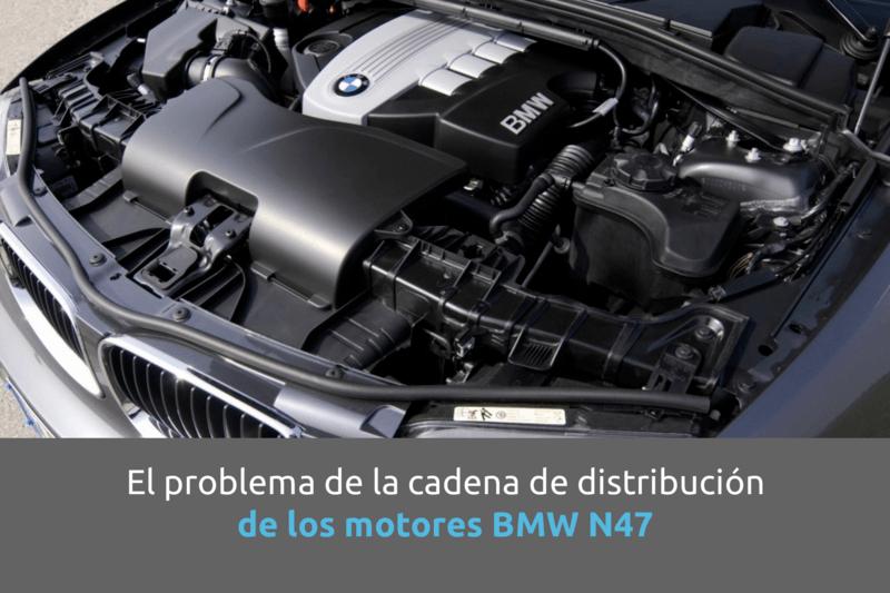 Cabecera problemas cadena distribución motores N47 de BMW