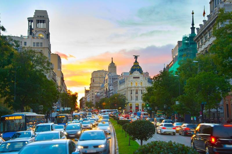 distintivo ambiental y restricciones en Madrid