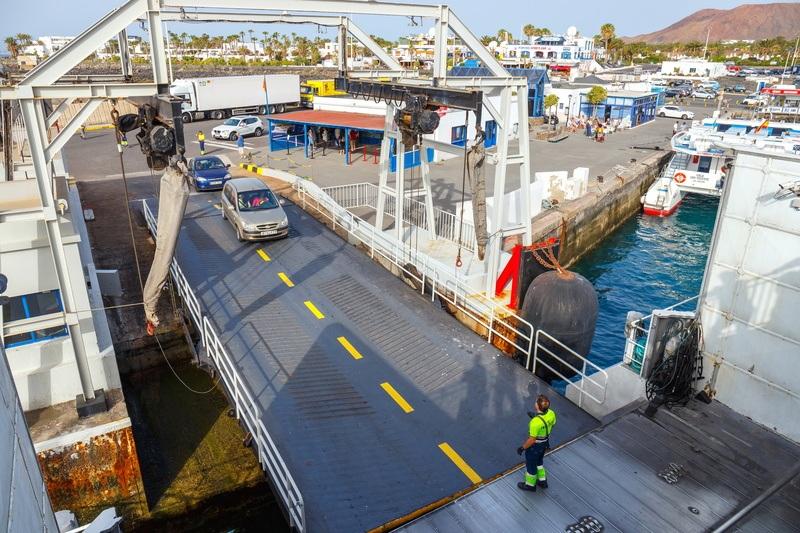 Guía definitiva para importar un coche de Canarias. Barco
